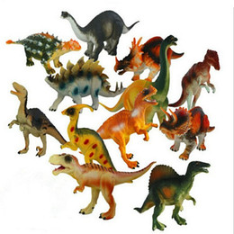 $enCountryForm.capitalKeyWord Canada - 7 Inch Dinosaurs Multicolor World Figure movie Kid Baby Toy 12 Sets Model Jurassic Dinosaurs Toys