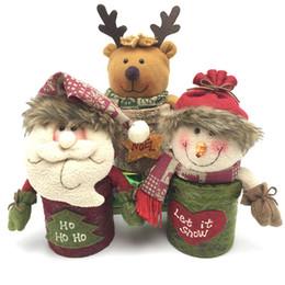 2017 nuovi contenitori di regalo di Natale, Vigilia di Natale, scatola di mele, decorazioni natalizie
