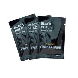 Black Mask Wholesale UK - 2017 PILATEN Facial Minerals Conk Nose Blackhead Remover Mask Pore Cleanser Nose Black Head EX Pore Strip 1000pcs