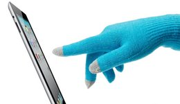 Discount normal mobile phone - Winter gloves. Keep warm. Mobile phone touch gloves. New pattern. Lace. Magic gloves. Fashion casual. Woman.Solid color.