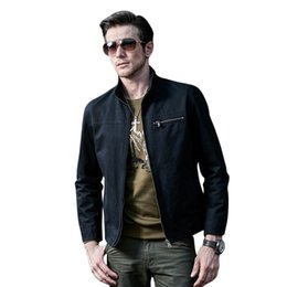 $enCountryForm.capitalKeyWord UK - Men Causal Cotton Jackets Male Stand Collar Fashion Military Tactical Bomber Jacket For Men Army Jacket Coat