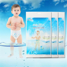 Discount christmas cloth diapers - Cloth Diapers Baby Disposable Swimming Trunks Breathable Thin Dry Infant Waterproof Cloth Nappies Baby Product Accessori