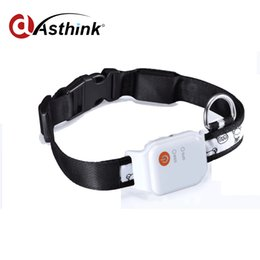 Gps Gsm Tracking Australia - Micro Rastreador dog GPS Tracker Collar Waterproof GSM GPRS Locator For Children Pet Cat Dog Bag Bike Car Tracking