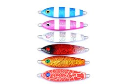 $enCountryForm.capitalKeyWord NZ - 6pcs of Metal Spoon Fishing Lure without Hook Bionic Jigging Lure Artificial Sea Fishing Bait 8cm 42.5g Pesca Fishing Accessories