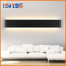 New Modern 6W 14W 20W 24W 30W 36W Led Wall Lamps Aluminum Acryl Lamp 85V 265V Mirror Light For Bedroom Living Room Stair Bathroom
