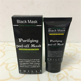 Enlèvement Profond De La Tête Noire Pas Cher-Masque Facial Pas Cher SHILLS Purifiant Peel Off Black Masque Blackhead Remover Nettoyant Démaquillant Pore Traitement Acné Black Heads Removal 50ml