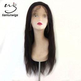 $enCountryForm.capitalKeyWord NZ - Wholesale price 100% unprocessed virgin remy brazilian full lace human hair wig natural straight women hair lace front wig for sales
