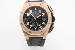 Men liMited watches chronograph online shopping - Royal Oak fashion classic K men sports Chronograph AAA F1 professional adhesive tape luxury brand watch
