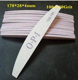 Vente en gros Vente en gros- 80pcs gros client le plus bas prix, lime à ongles de haute qualité, 100/180, lime à ongles Zebra, outils de manucure