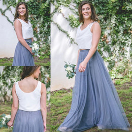 Model long dress casual online shopping - 2017 New Cheap tulle bridesmaid dress Women Long Skirt Tutu Elegant Petticoat Casual Tulle Elegant Long Skirt A line Dresses Without Blouse