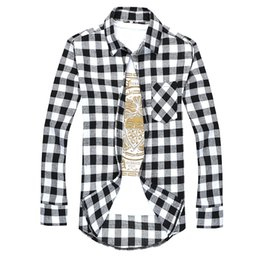 Discount Black And Yellow Plaid Shirt | 2017 Black And Yellow ...