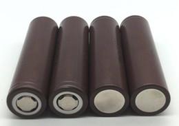 Vente en gros CHAUDE 18650 HG2 3000mAh Capacité Max 20A Haute Décharge Batteries Batterie Au Lithium HG2 Pour Electonic Cigarette 100W