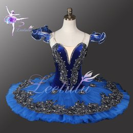 classical ballet costumes tutu Canada - Hot Sale Adult Dance Troupe Theatric Costumes Proffesional Blue Ballet Tutu,Classical Ballet Tutu Ballet Costume Girls Stage Wear