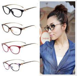 94f6dd8f1e6 8 Colors 2016 Fashion Cheetah Earstems Glasses frames Women Ladies Leopard  Decorative Reading Glasses Frame Eyeglasses No Degree