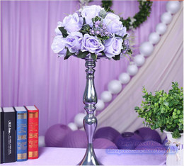 Wholesale wedding centerpiece wedding table decoration flowers light purple Rose Pitaya Road lead flower only the flowers