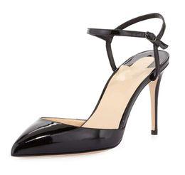 d5890609f2c5 Zandina Womens Ladies Fashion Handmade 10cm Slingback High Heel Sandals  Party Evening Dressing Stiletto Shoes White K310