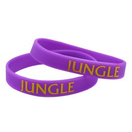 $enCountryForm.capitalKeyWord Canada - Hot Sell 1PC Silicone Wristband Gamer Gift Bracelet With Printed Logo: ADC JUNGLE SUPPORT TOP MID