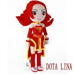 $enCountryForm.capitalKeyWord NZ - DOTA 2 action Figure Lina 50cm plush toys Collection dota 2 figure Toys