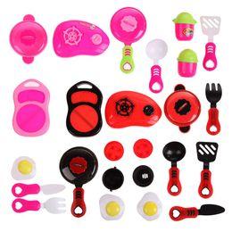 Red Play Kitchen Set