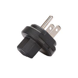 laptop travel power 2018 - free shipping American Standard Power Supply Three-hole laptop power adapter travel portable wireless plug adapter plug