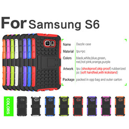 case for samsung g313 NZ - Defender Armor Hybrid Kickstand Silicone PC Case For Galaxy Grand Core Prime on5 on7 J2 J7 J5 Prime S6 Active edge Plus C9 ace 4 G313