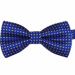 Cravate Gros Smoking Pour Garçon Pas Cher-Grossiste- Mariage Baby Boy Bow Tie Formal Party Infant Pre Tied Tuxedo Gentle Toddler Necktie