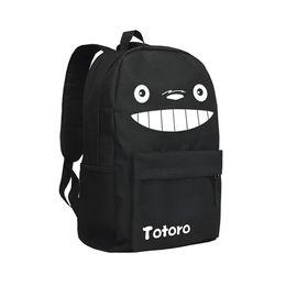 9584c878a2d3 Japanese Anime Totoro Backpack Oxford School Bag Teenager Knaspsack Cute My  Neighbour Totoro Backpacks for Children Boys and Girls Mochila