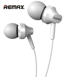 Usb Audio Jack Music Canada - Remax RM-501 Ear Metal Music Wire-based Earset HD Microphone 3.5mm Audio Jack Wire 1.2m Cable Length