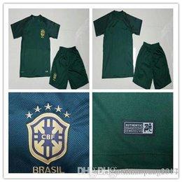 shirts thailand aaa brazil home soccer 17 18 world cup soccer jersey kits 2014