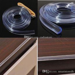 baby table corner UK - Baby Safe Table Desk Edge Corner Protector Cushion Guard Strip Soft Bumper L00066 FASH