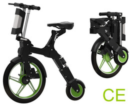"""Motor Bicycles Australia - Front Wheel 18"""" 16kg Foldable Portable Chainless Electric Bike Two Wheel Folding Lightweight Bicycle E-Bike 250W Brushless Motor Scooter CE"""