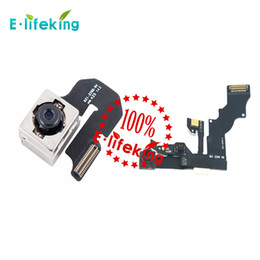 Chinese  Front Camera with flex cable & Back Camera Lens Cam Replacement for iphone 6 & 6 plus Hot Selling manufacturers