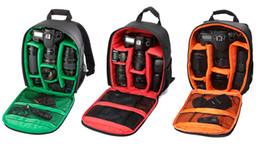 Nouveau modèle DSLR Camera Bag Sac à dos Vidéo Photo Sacs pour Appareil photo d3200 d3100 d5200 d7100 Petit Compact Camera Backpack