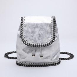 4e9bb080cd06 2018 Summer Fashion Mini Backpacks for Women Small Drawstring Chain Bag  Designer Backpacks Women High Quality Girl Mini Rucksack