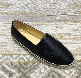 with paypal free shipping cheap supply women Lazy Soft Espadrilles Shoes Top Quality Luxury brand fashion Elegant Genuine Leather sneakers Ladies Thick bottom Two tone flats 36-41 cheap sale 100% guaranteed p0JeuvrUo