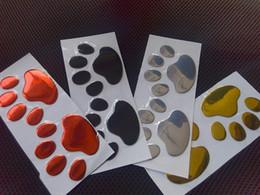 $enCountryForm.capitalKeyWord Canada - 2pcs  Lot Stylish Silver Funny Dog Bear Paw Pet Animal Footprint Emblem 3D Car Stickers Decals Decor Decoration Auto Accessories