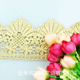$enCountryForm.capitalKeyWord NZ - 5Yards MEETEE 6.5CM shell flower water soluble Embroidery Lace ribbon