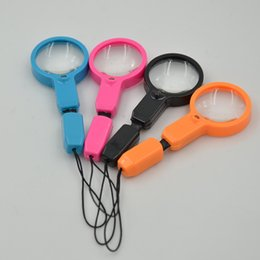 A portable key led a magnifying glass Multi-functional high-definition magnifying glass LED flashlight lamp manufacturers selling wholesale from telescope high manufacturers