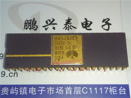 mp3 circuit NZ - R65C52C3 . R65C52C2E . R65C52   Communications Interface integrated circuit IC   CDIP-40 pins ceramic package , Gold surface Vintage Chips