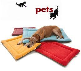 Mats Canada - High Grade Soft Polar Fleece Cozy Pet Dog Crate Mat Kennel Cage Pad Bed Pet Cushion 6 Colors p99