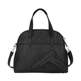 $enCountryForm.capitalKeyWord Canada - Wholesale- 2015 New Women Gun Handbag 3D Cartoon Pistol Bag Vlieger Vandam Style Pistol Bag PU Leather Shoulder Crossbody bags for women