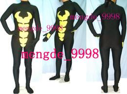 $enCountryForm.capitalKeyWord Canada - New Fancy Bumble Bee Costumes Unisex Black Yellow Lycra Spandex Bumble Bee Suit Catsuit Costumes Unisex Costumes Halloween Cosplay Suit M181