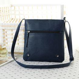 $enCountryForm.capitalKeyWord Canada - New women fashion pure color single shoulder messenger bag lady casual evening handbag black brown red blue coffee color no232
