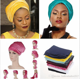 $enCountryForm.capitalKeyWord Canada - Fashion Velvet Head wrap Woman Velvet Turban Headband India Caps Head Wraps Hijab Head Scarf S694