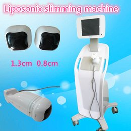 Barato Gordura Corporal Profissional-Professional HiFU Liposonix Slimming Machine Body Shaping Perda de peso Remoção de gordura Spa Beauty Equipment CE aprovado