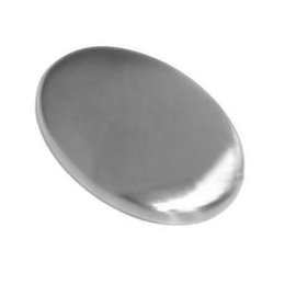 Chinese  Oval Shape Soap Stainless Steel Magic Eliminating Odor Smell Cleaning Kitchen Bar Hand Chef Remover Small Size 3006028 manufacturers