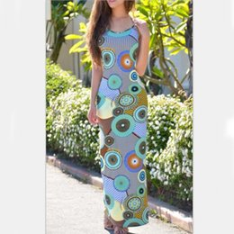 554a67711e64 Summer beach sexy dress robe femme ete 2017 womens clothing sleeveless plus  size women vintage flora printed Bohemia long dress
