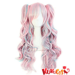 purple hair lolita cosplay 2019 - Kukucos Hot Anime Black Butler Danganronpa Lolita Hair Cosplay Wig Many Style For Chice Very Beautful Look