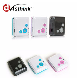 Gsm Gprs Gps Australia - Mini Personal Kids Child GSM GPRS GPS Tracker RF-V16 SOS Communicator 7 Days Standby Voice Monitoring Lifetime Free Tracking