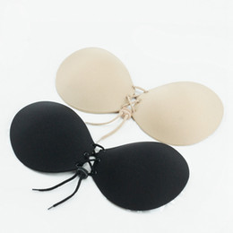32a Poitrines Pas Cher-Silicone Invisible Bra Femmes Push Up Stick On Self Adhesive Strapless Rope Bras Underwear Underwear OOA2141
